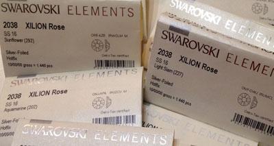 Swarovski Fabrieksverpakkingen